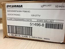 10 SYLVANIA QHES2X28T5/UNV PS90-SC 51496 PROGRAMMED RAPID STEP DIMMING 120-277V