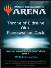 MTG Magic Arena Planeswalker Deck Code. Full Deck Code. Oko/Rowan deck.