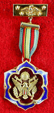 Vintage 1960s GREAT SEAL OF THE UNITED STATES Medal Patriotic Jewelry Steampunk
