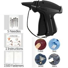 Tagging Gun With Fasteners Clothes Labeling Fabric Price Label Tool Tag 5 Needle