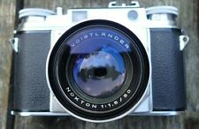 Vintage Voigtlander Prominent Nokton 1:1.5/50 35mm Camera from WWII Photographer