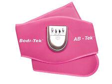Bodi-Tek AB Toning Belt EMS Stomach Muscle Body Toner System Pink - UK Retailer