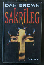 Sakrileg, Thriller, Dan Brown, 2004, gebundene Ausgabe, TOP!