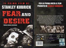 FEAR AND DESIRE - DVD (USATO EX RENTAL) SOTTOTITOLI IN ITALIANO