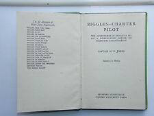 W E Johns - Biggles Charter Pilot 1952 Edition HB