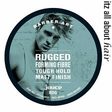 Juuce Rugged Forming Fibre Tough Hold Matt finish 80g x 1 Pack Barber Art