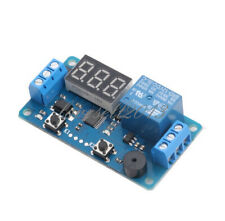 1pcs Dc 12v Led Display Digital Delay Timer Control Switch Module Plc Automation