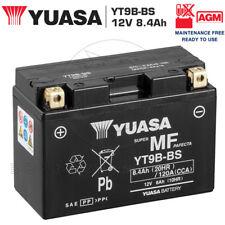 BATTERIA YUASA PRECARICATA 12V 8AH YT9B-BS YAMAHA XP T-MAX TMAX 500 2001-2003