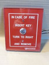 Edwards 1534-1 Fire Alarm Switch Key Operated