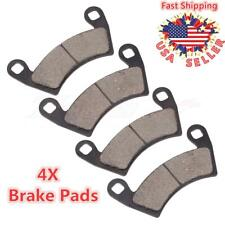 4 Sets Front and Rear Sintered Metal Severe Duty Brake Pads Compatible with POLARIS Ranger XP 900 Ranger 400 Ranger 500 Ranger 700 Ranger 800 Ranger 1000 For POLARIS Ranger