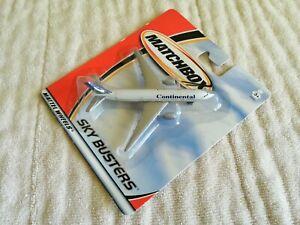 2001 Mattel Matchbox Sky Busters 1/24 Continental Boeing 777-200 New!