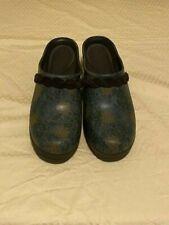 Women's Crocs  High Heel Clogs Strap Slip-on Mules Size 7