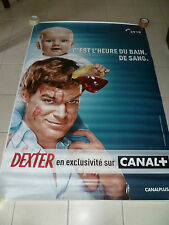 AFFICHE DEXTER 4x6 ft Bus Shelter D/S Movie Poster Original 2006