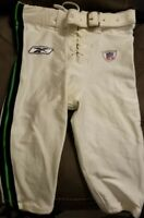 2006 Seattle Seahawks #39 Game Worn White NFL Reebok Football Pants