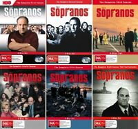 THE SOPRANOS The Complete Series Seasons 1 2 3 4 5 6 DVD (24 Disc Set) NEW