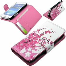 Wallet Flip Leather Magnetic Stand Case Cover For Samsung Galaxy Ace 3 III S7272