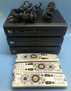 (1) DirecTV Satellite Receiver Box  - Model D12-100 Power Cord And Remote
