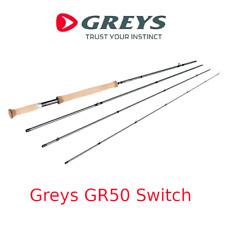 Canna da pesca a mosca per trota torrente Greys GR50 Switch rod in carbonio 4 pz