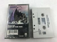 Nazareth Hair of the Dog 1975 Audio Cassette Tape A&M Records