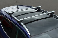 Cross Bars For Roof Rails To Fit Volkswagen Tiguan (2007-16) 100KG Lockable