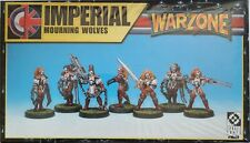 Warzone Target Games Imperial Mourning Wolves box nuovo sigillato #10520