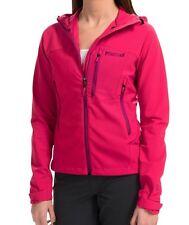 NWT XS Marmot Estes Hot Pink Raspberry Zip Up Estes Water Repellant Jacket $100