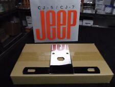 Jeep CJ, CJ Laredo, Renegade, SS lic. Plate Bracket