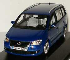 VW TOURAN 2007 GP TYP 1T BISCAY BLUE MINICHAMPS 1T0099300GPC5C 1/43 VOLKSWAGEN