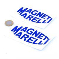 Magneti Marelli Stickers Classic Car Racing Decals Vinyl 100mm x2 F1 Rally