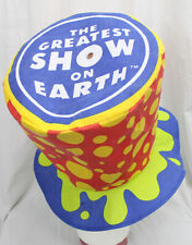 Vtg Ringling Barnum Bailey Circus Hat Greatest Show Earth Ringmaster Polka Dots