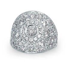 Sophia Star 14K White Gold Exclusive Pave 4.60 Carat Diamond Ring MSRP $27450