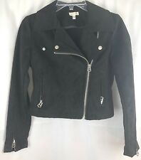 Urban Outfitters Women's XS Black Motorcycle Jacket-Silence and Noise Brand NWOT