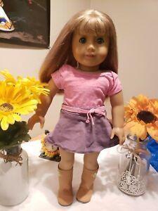 American Girl Truly Me Doll.# 32 Blonde Hair Light Skin Blue Eyes RETIRED