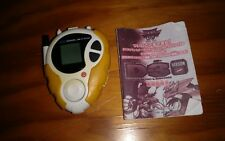 2000 Bandai Digimon Digital Monsters Used Yellow D3 Version 2 Digivice Toy As Is