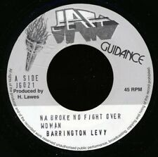 "NEW 7"" Barrington Levy - Na Broke No Fight Over Woman  /  Roots Radics - Version"