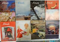Lot of 10 Friends Magazines 1958 - 1963