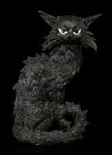 Schwarze Katzen Figur - Salem - Kätzchen Hexenkatze Dekostatue Geschenk