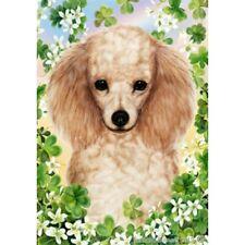 Clover House Flag - Apricot Poodle 31016