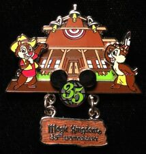 DISNEY PIN - CHIP and DALE 35 Magical Years Magic Kingdom Anniversary WDW LE