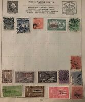 Great India Siam Thailand native States Stamp Collection Lot MXE
