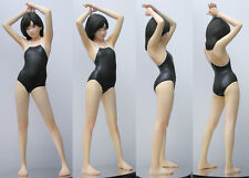 Japanese cute swimsuit girl stand realistic 1/6 unpainted figure resin model kit