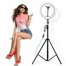 26cm 10inch Video Light Dimmable LED Ring Photography ring lamp with 2M tripod
