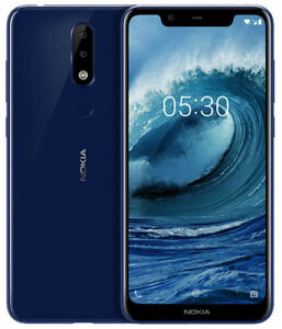 NOKIA X5 3gb 32gb Dual Back Camera Fingerprint Octa Core 5.86 Inch Android 8 LTE