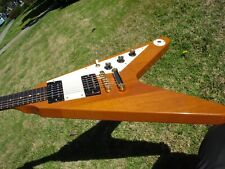2006 Gibson Flying V Natural Vintage V98  - Slim 1960s Neck -- 7.4 lbs