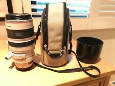 Canon EF 100-400mm F/4.5-5.6L IS USM Lens With Case, Caps, and Hood