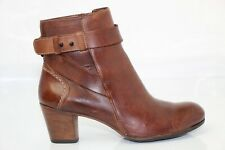 Kickers Leather Boots Brown T 37 Very Good Condition