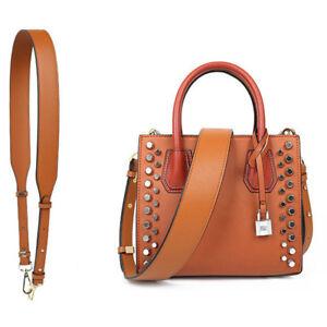 Women Wide Leather Adjustable Handbag Strap Replacement Crossbody Bag Strap 4cm