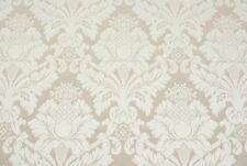 Tessuto Damascato Jacquard Ecrù-cm. 50x280-Upholstery Fabric