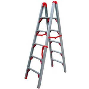 TeleSteps 600FLD 6'  Folding Step Ladder-Double Sided