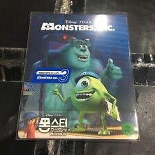 Monsters Inc 3D+2D Blu-ray Steelbook 1/4 Slip KimchiDVD Disney Pixar NEW Sealed